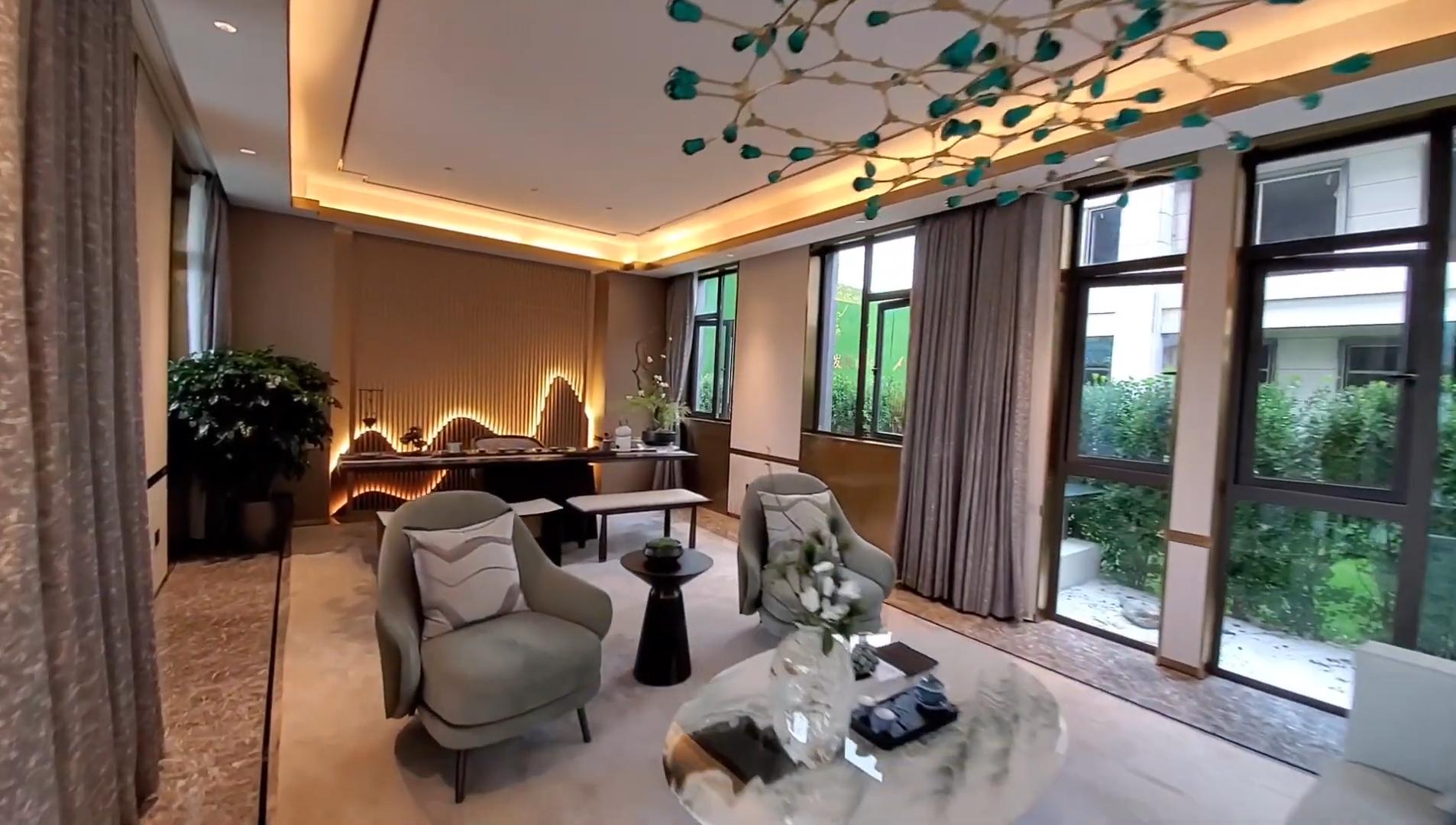 超美中国风别墅:占地365平,走进去才知道什么叫低调的奢华