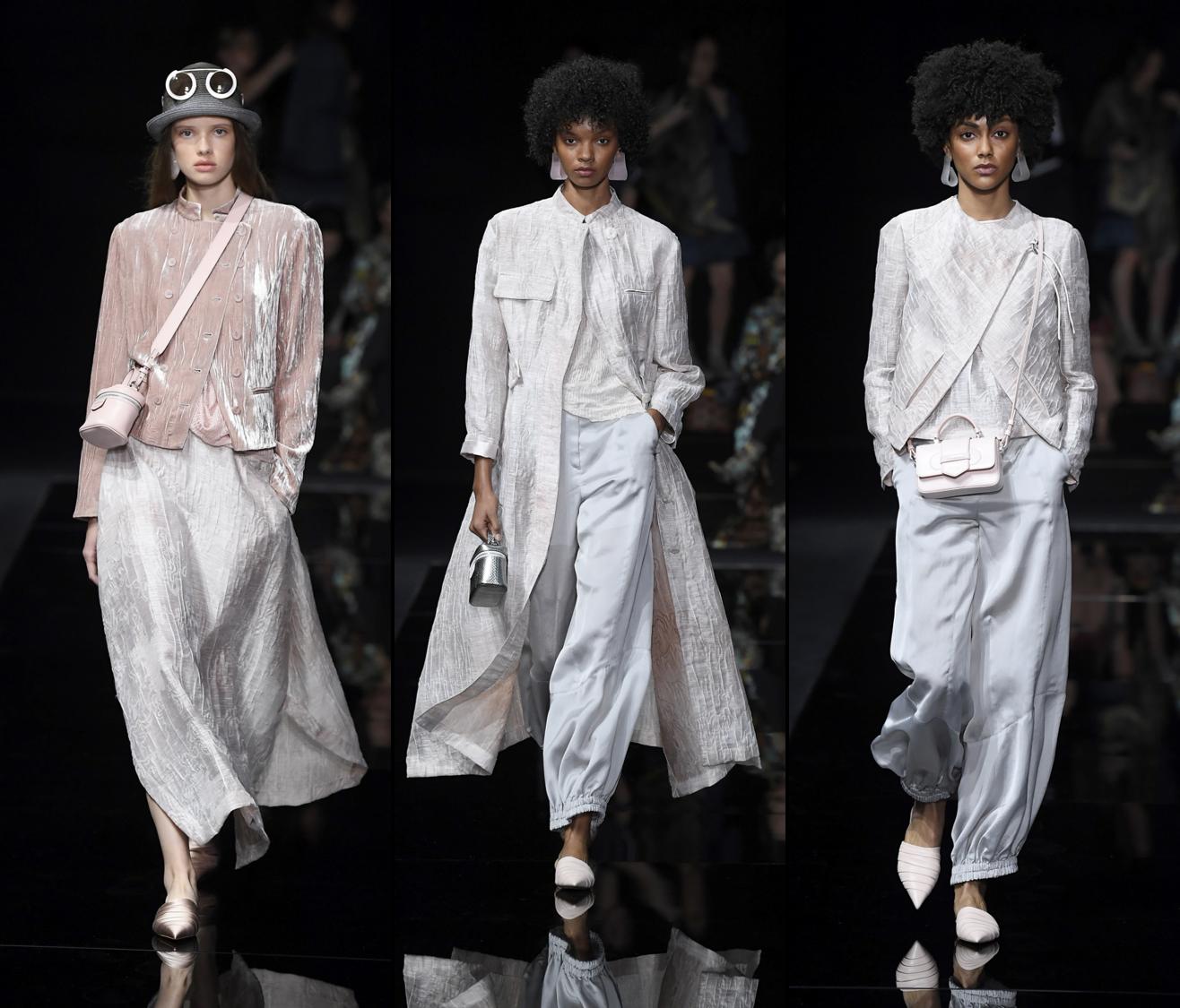 懒洋洋的时装秀!阿玛尼的2020时装大秀,61套时装你想穿哪套?