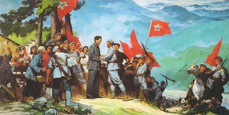 """""""中央红军""""发展历程"""