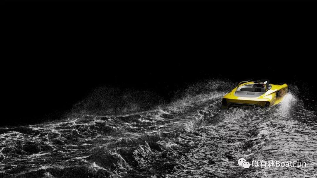 布加迪设计师将手伸向海上,发布首款概念游艇Atlantic