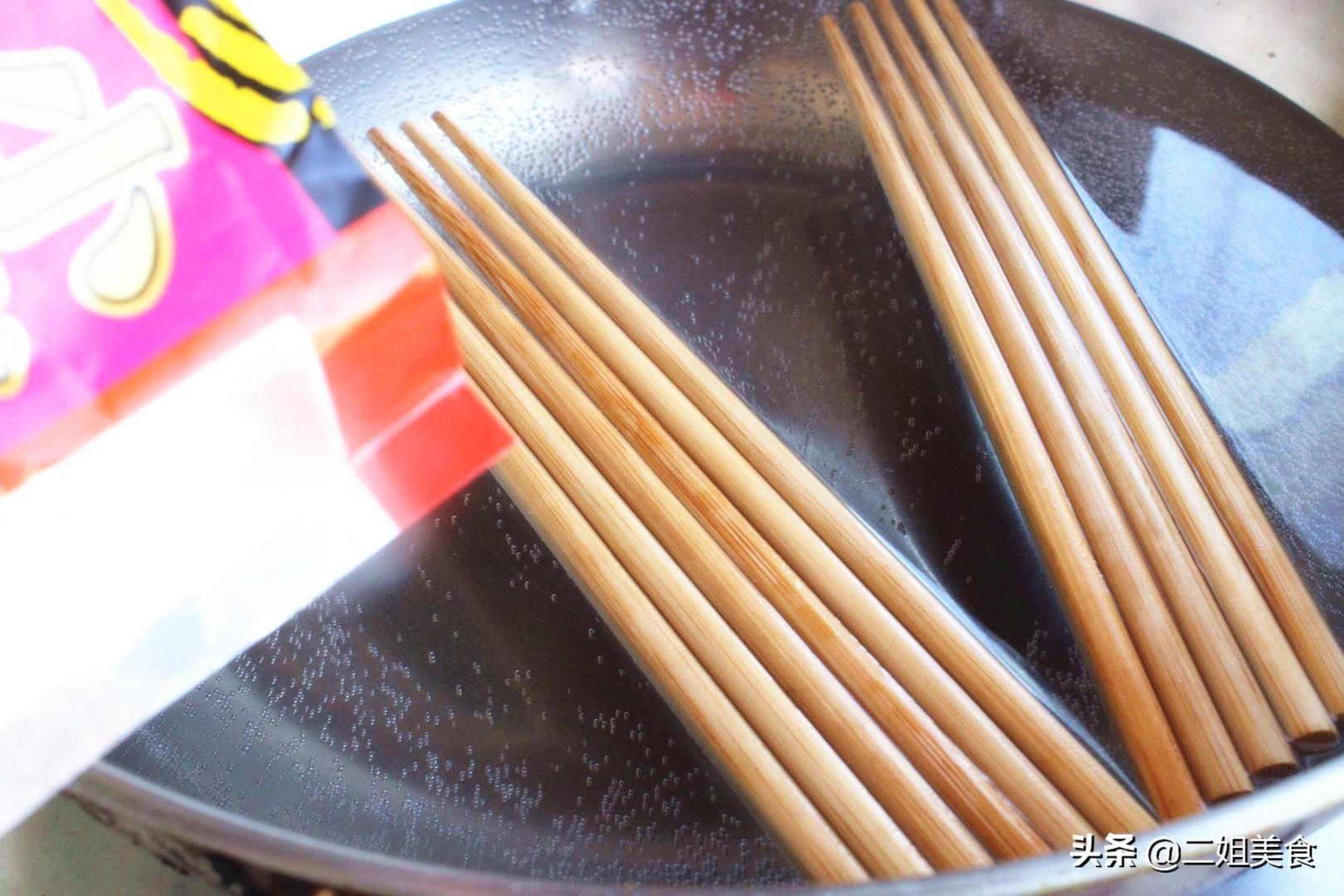 買回來的新筷子別直接用,多做2步,用久不發霉不開裂,簡單實用