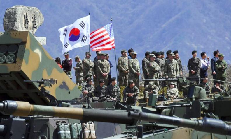 看到朝鲜新导弹,美防长赶紧喊话韩国:尽快分担军费