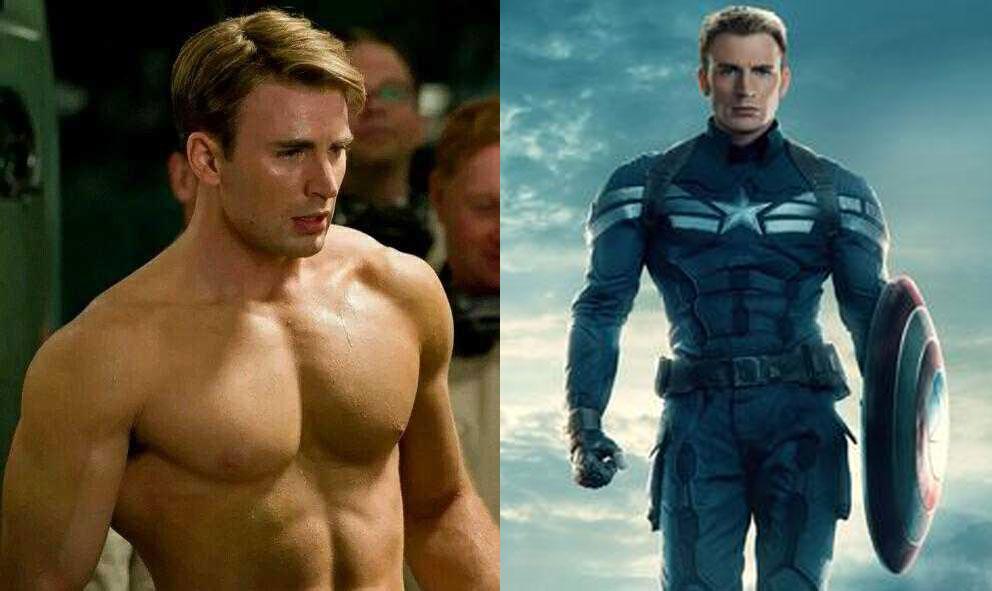 """克里斯·埃文斯:如何拥有像""""美国队长""""一样的身材?"""