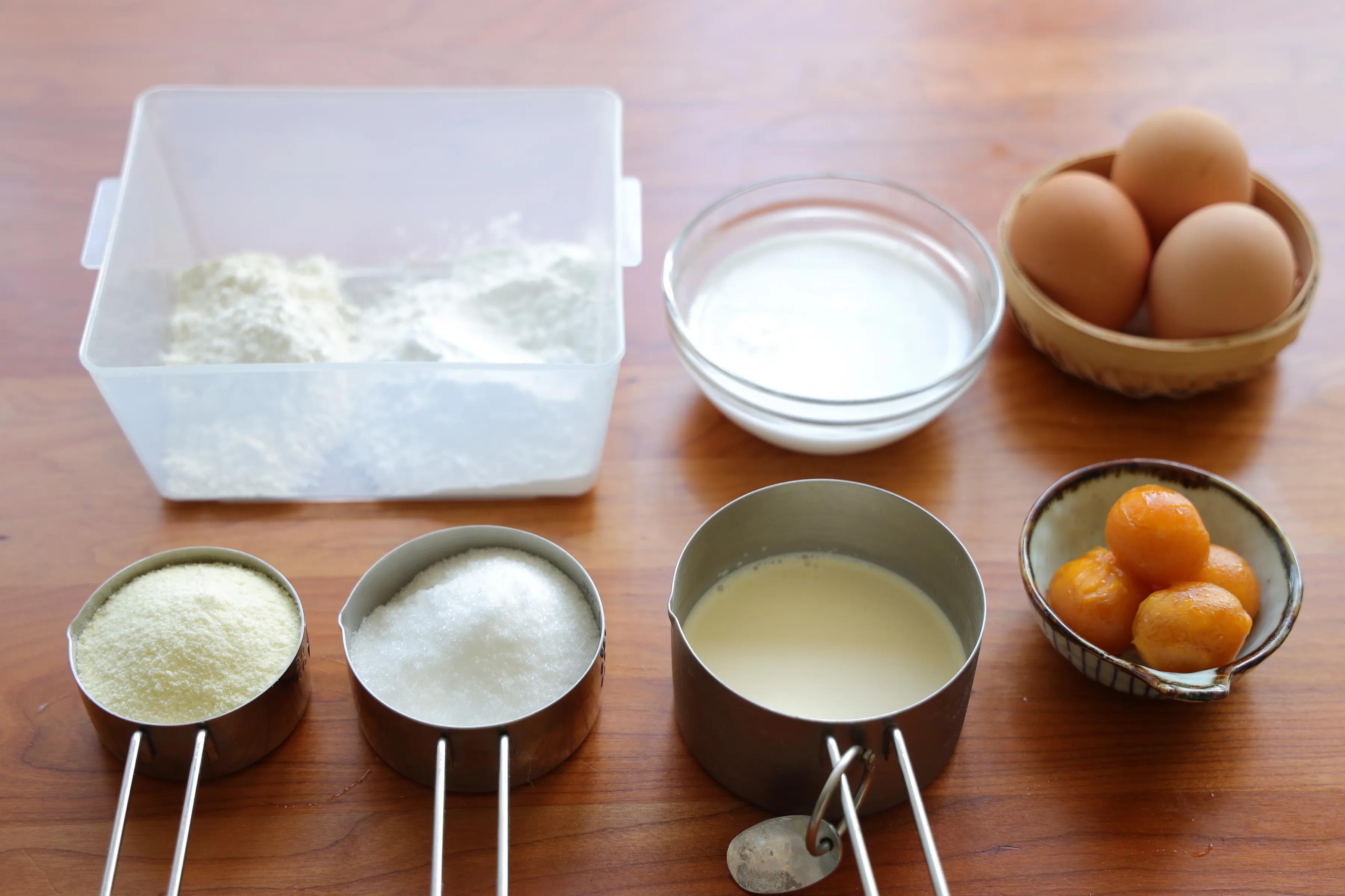 万能的奶黄馅儿,月饼包子离不开,小朋友超级爱吃!做法超简单