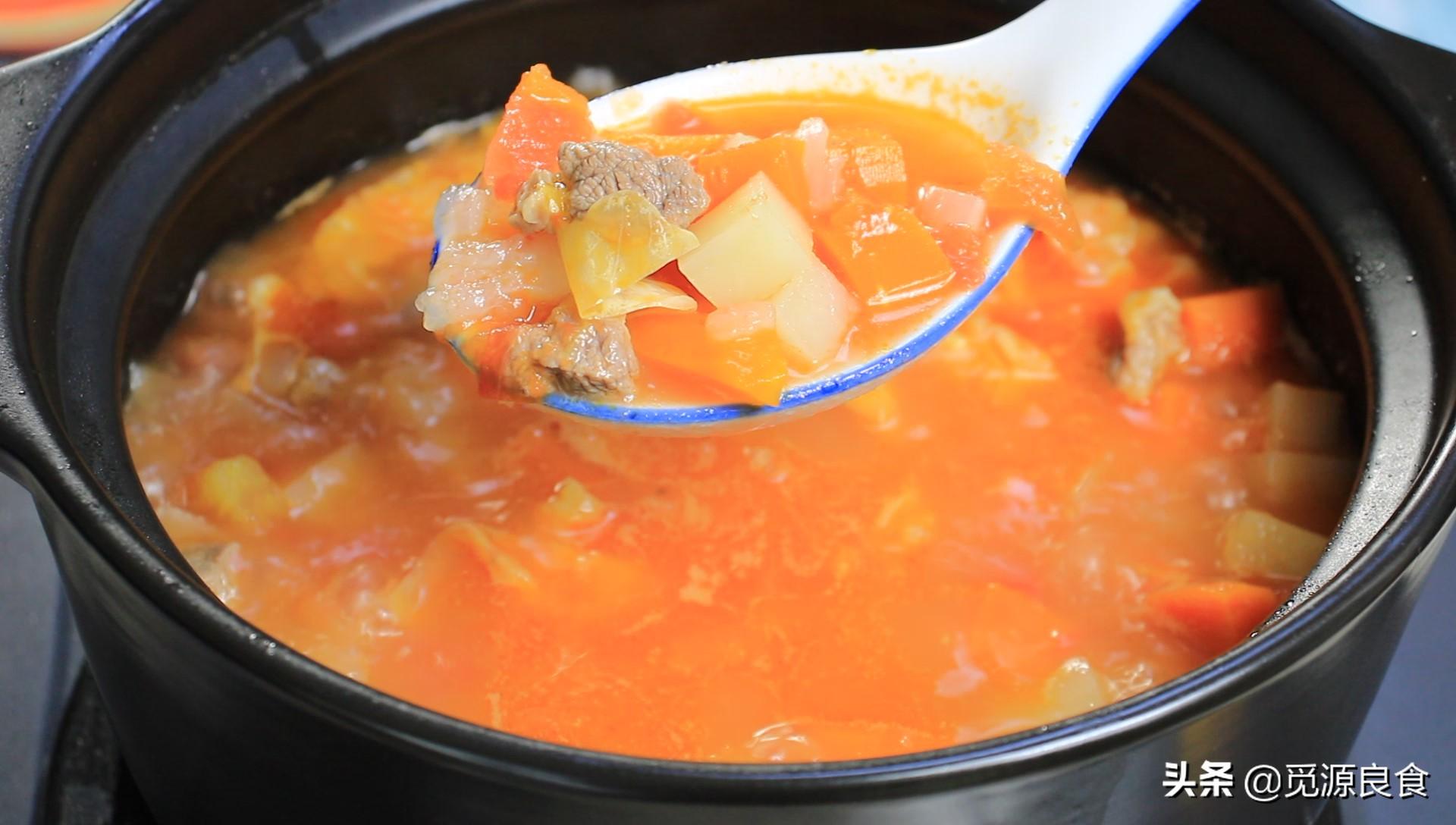 罗宋汤的做法 适合三伏天吃