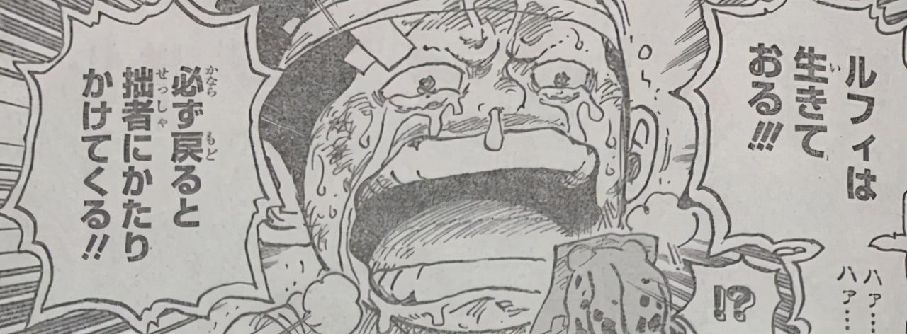 海賊王1015話:山治使用索隆,錦衛門犧牲