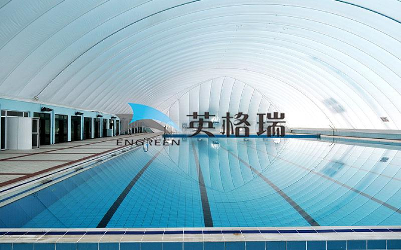 做游泳館生意優先選擇膜建筑室內游泳館