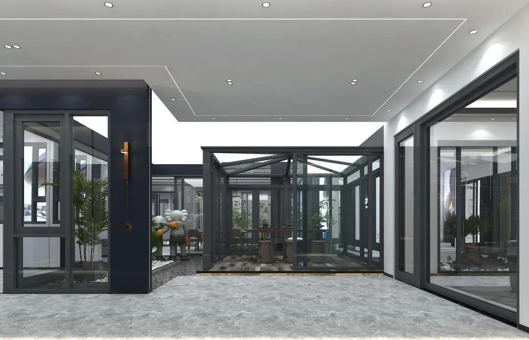 愛迪雅門窗專賣店全面升級,打造高端標準化品牌形象