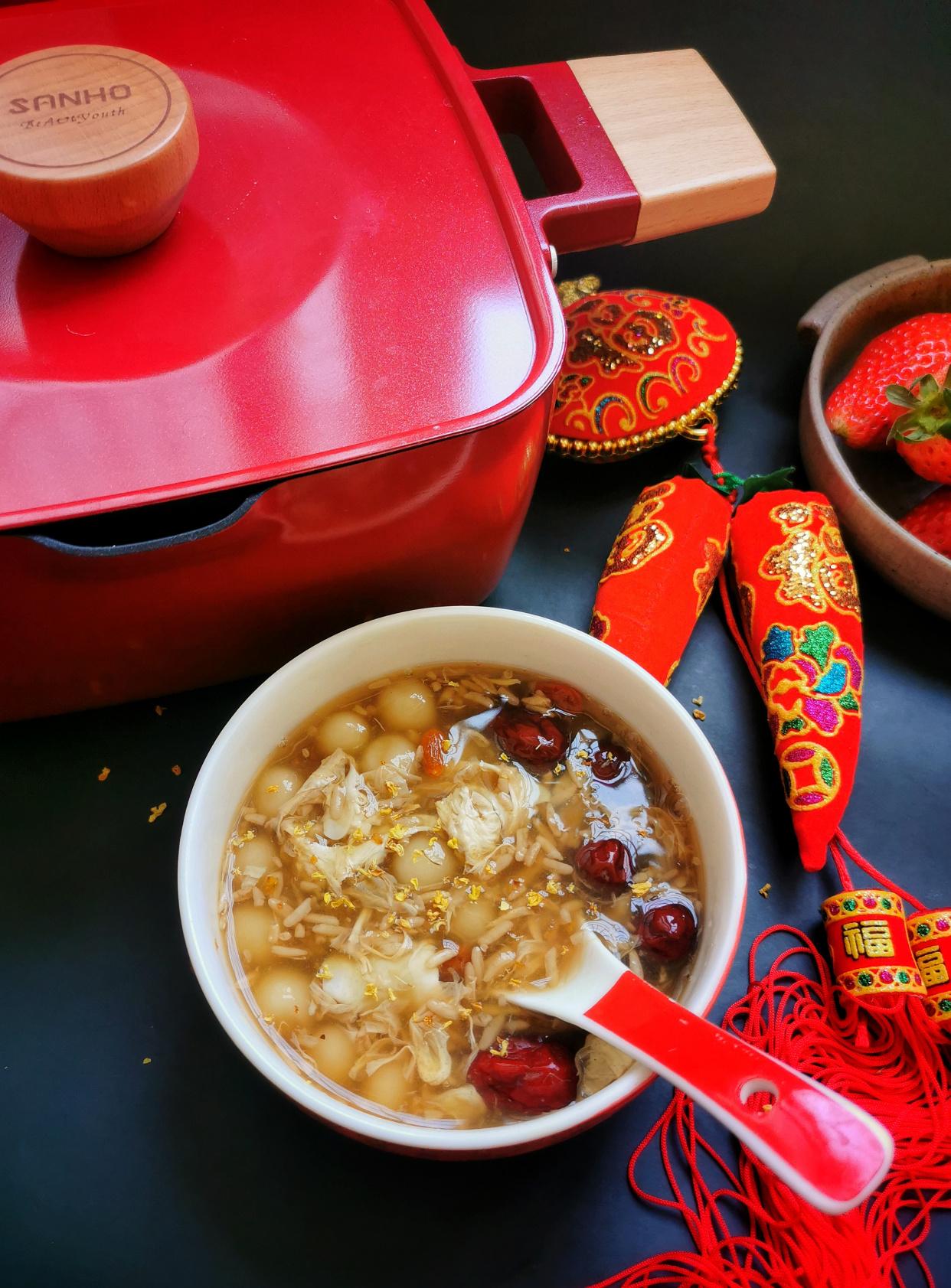 春節,雞湯骨頭湯都靠邊站,這碗甜湯對脾胃好,成本只有5塊錢