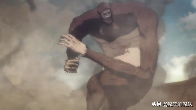 巨人最终季开播,第一集没调查兵团出场,战斗场面却依旧精彩