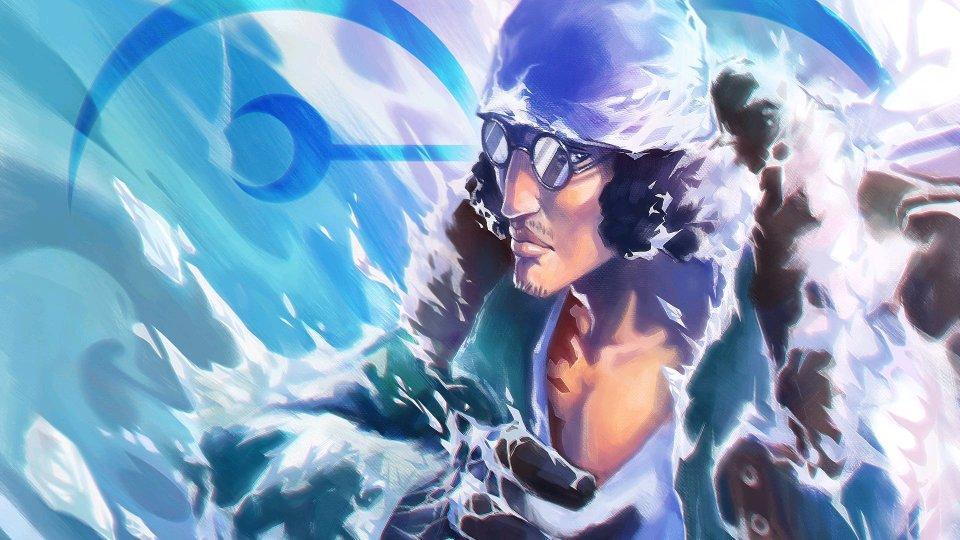 海賊王5大海域的最強者,南北海最強者水火不容,東海不算最弱