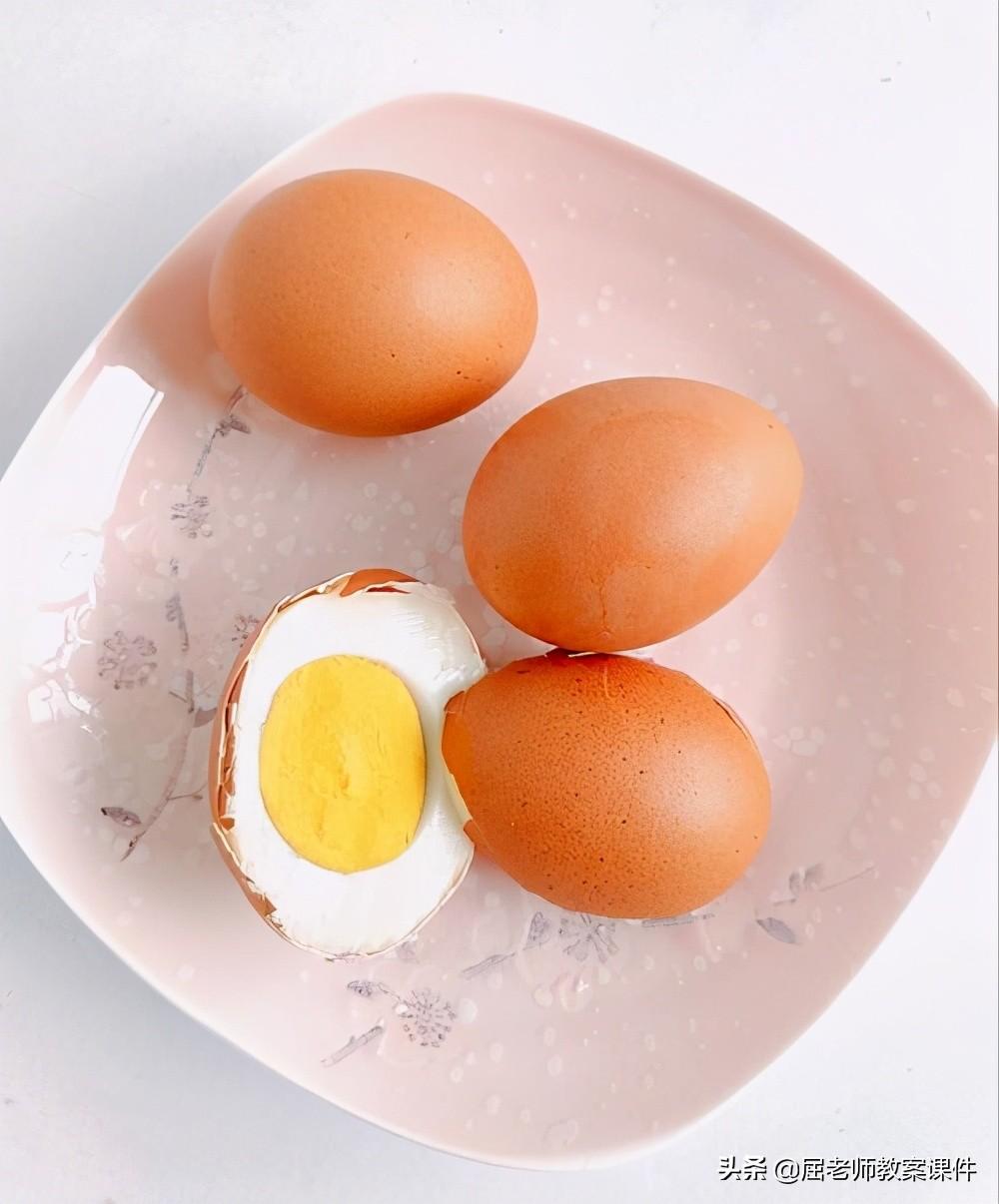 幼儿园小班健康教案 每天吃一个鸡蛋有利身体健康