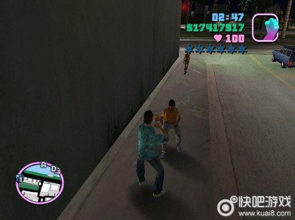 侠盗猎车 罪恶都市,各个NPC的攻击伤害