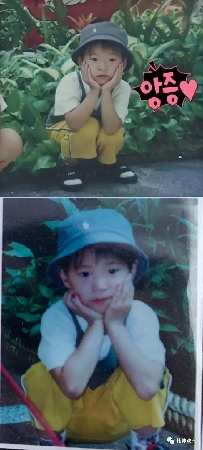 这两兄弟小时候的照片,看起来育儿难度如何?