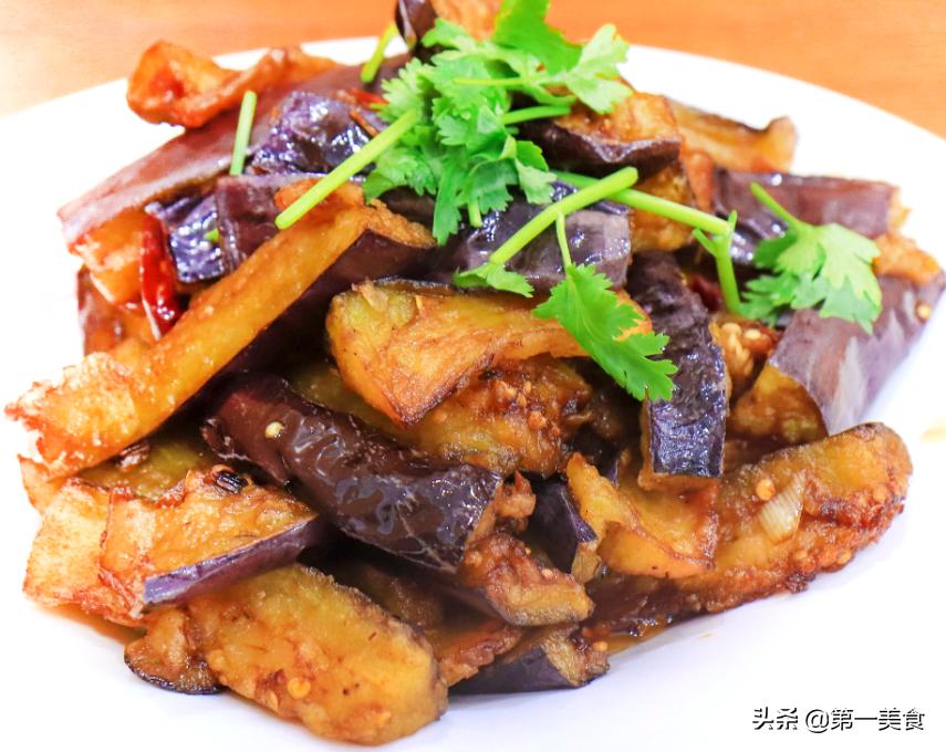 大厨教你风味茄子家常做法方法简单焦酥酥脆不回软越嚼越香