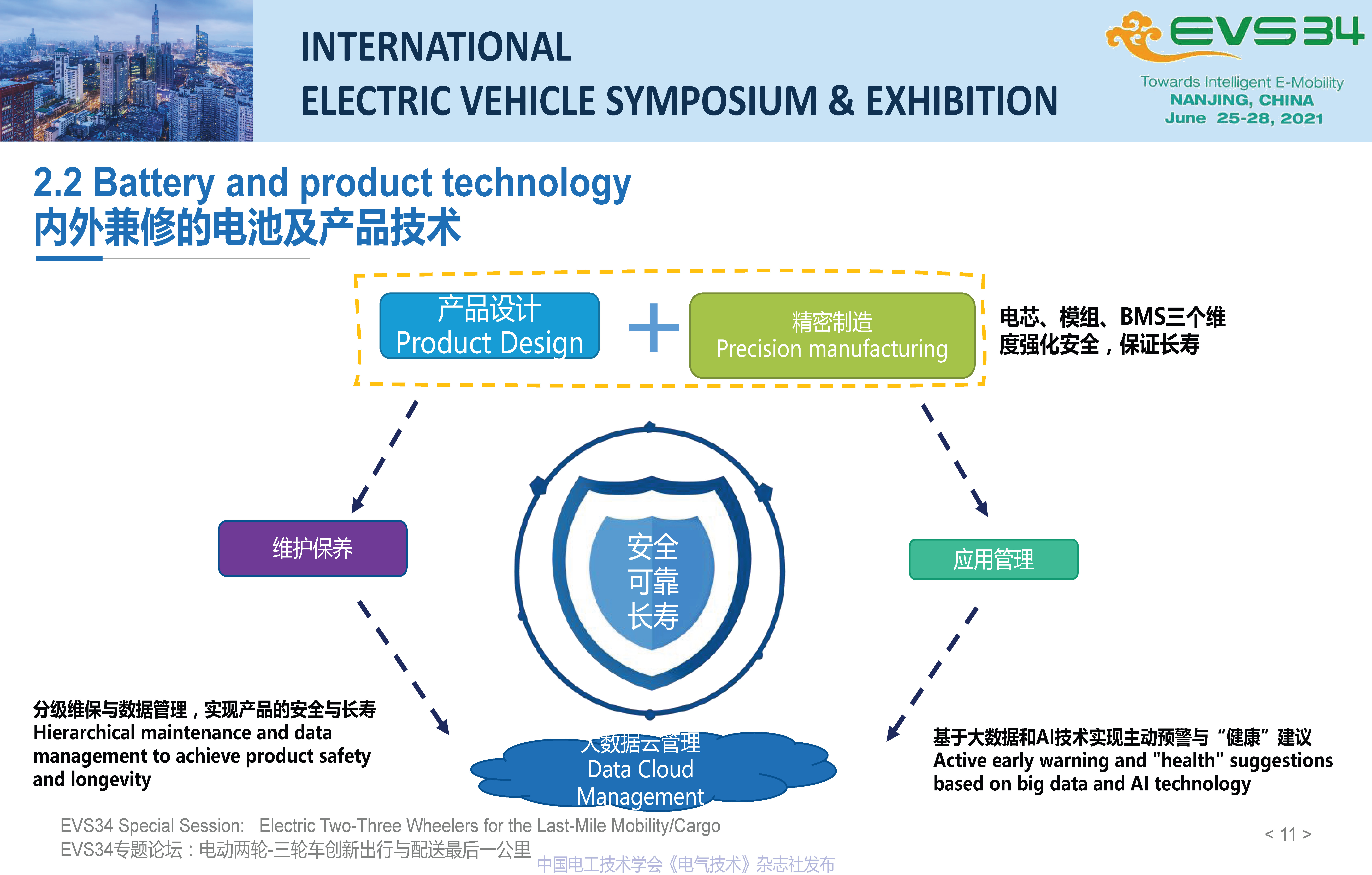 EVS34大会报告:轻型车锂电池产品、技术与服务创新