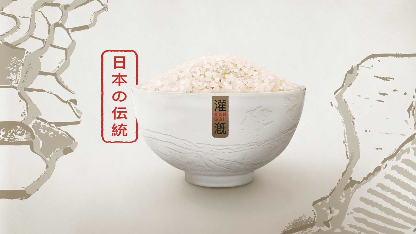 日常大米也得讲究,亚洲各地大米包装设计