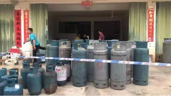 三亚天涯警方查处一起非法储存买卖燃气案