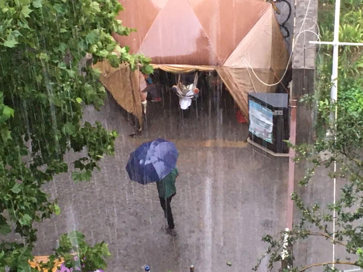 雷雨又来!北京发布雷电蓝警,海淀丰台已经下起来了
