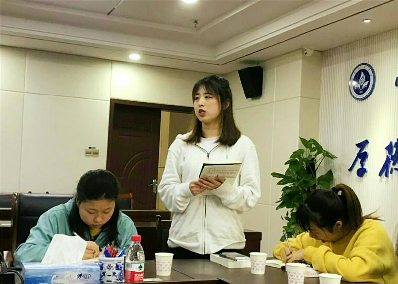 南昌师范学院青烛党员先锋队举办党史学习教育专题读书班
