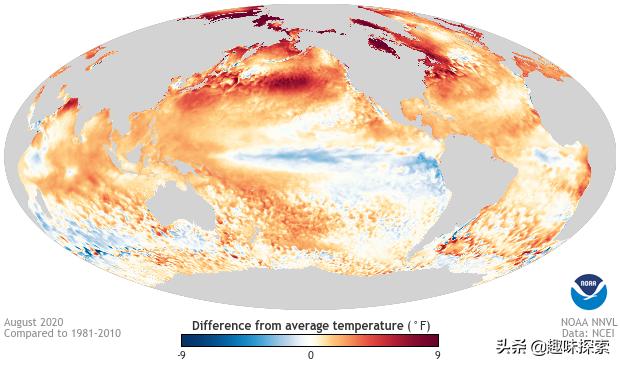 """八月确定是全球141年""""第二热"""",是半北球有史以来最热一个月"""