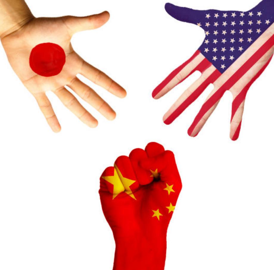 日本和美国联手在中国周边搞事