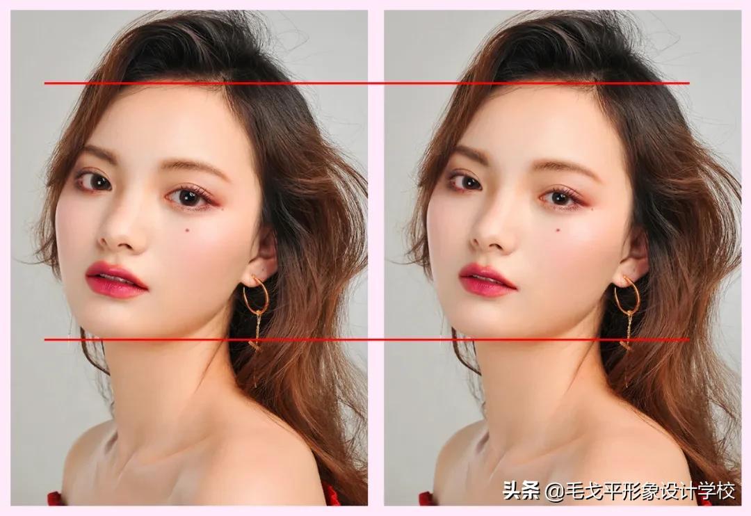 脸大必看 | 神奇纵向化妆术,让你瞬间拥有精致小脸