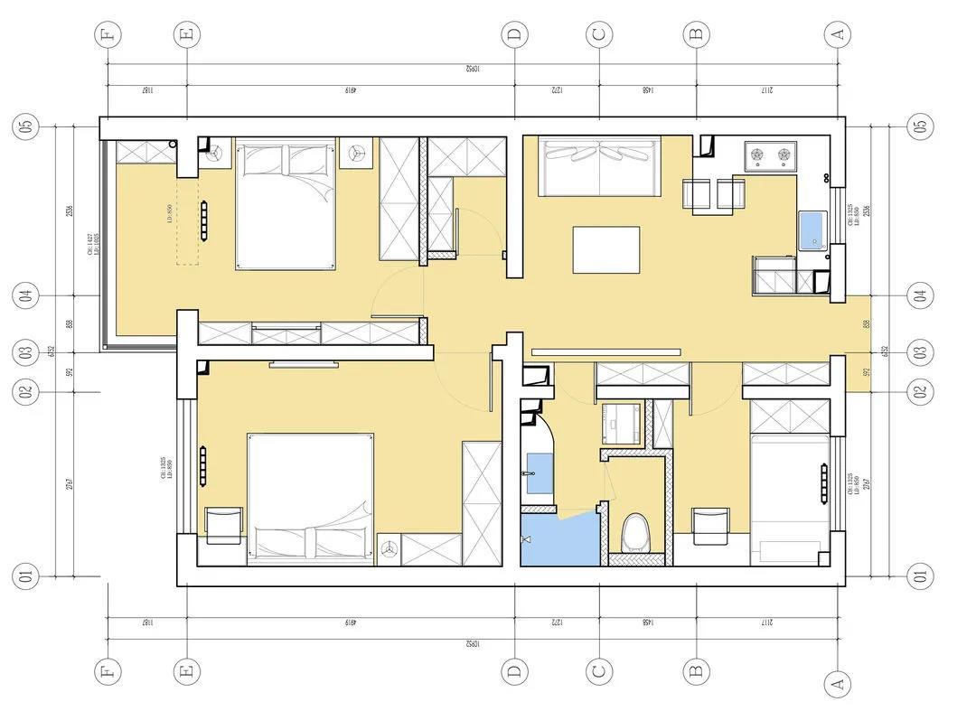 宿迁装修|老破小爆改,动静分区+立体收纳,这个家成功改头换面