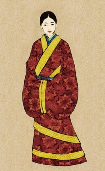 汉服就是汉朝的服饰吗?汉服刺绣的寓意?(一)