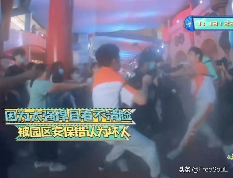 吴奇隆被保安当成坏人按倒,导演组大喊:那是艺人,让开!