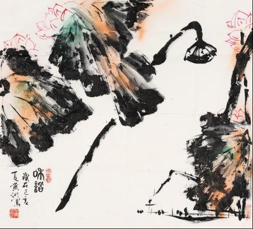 书画篆刻家黄河作品在北京保利拍卖成绩喜人