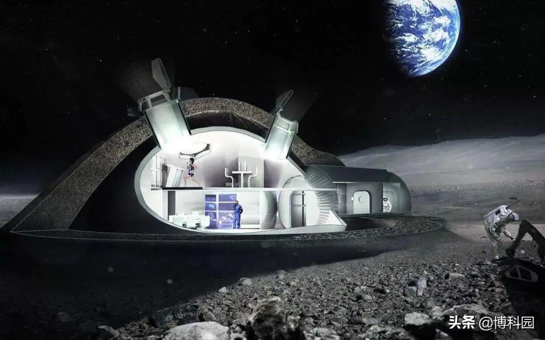 这个研究太好了:像这样的智能月球基地,我也非常想上去买房住