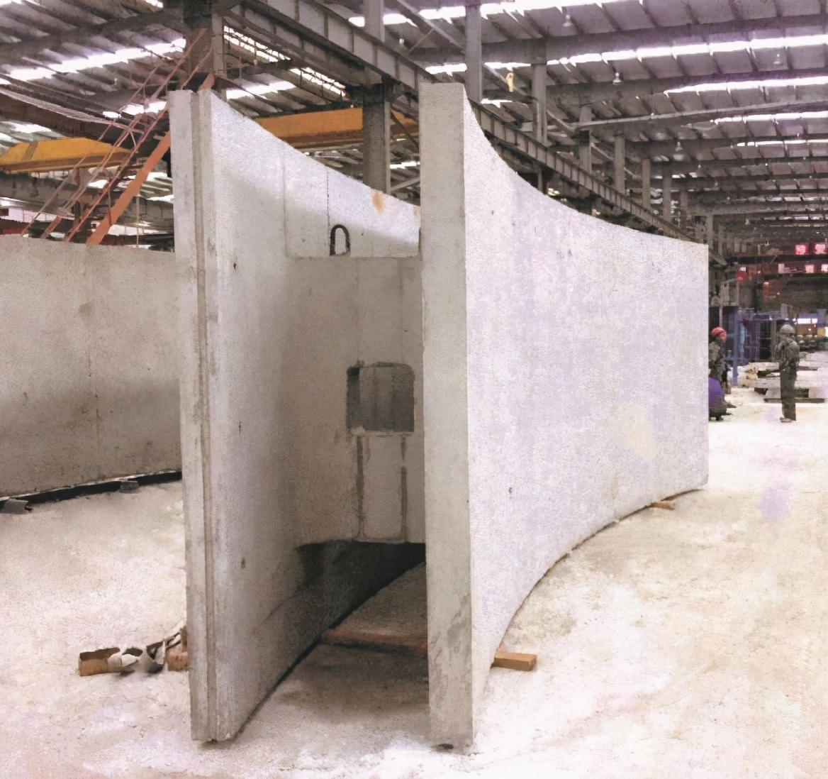全国首个预制装配+沉井式地下机械停车库