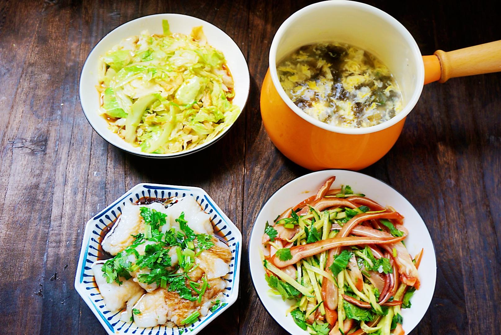 晒晒我家的晚餐,7天不重样,营养丰富,网友:生活有滋有味 美食做法 第6张