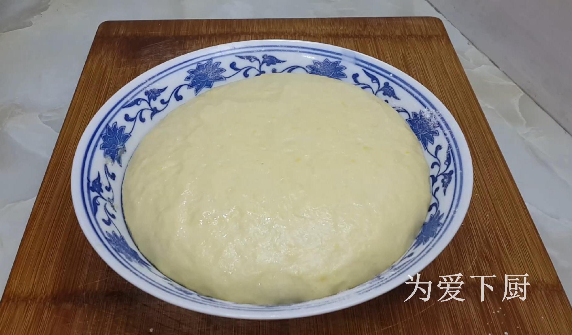 2個雞蛋,半斤麵粉,鍋裡炸一炸,鬆軟又香甜,比麵包油條還好吃