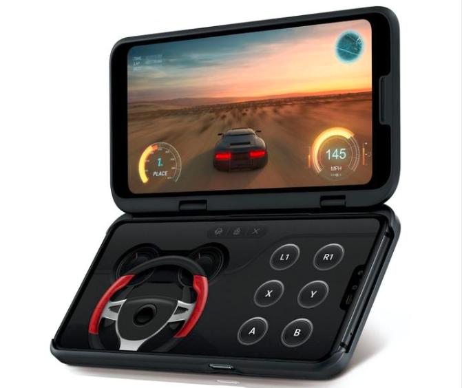 LG V50 ThinQ 5G手机上将要上市,市场价近7000元
