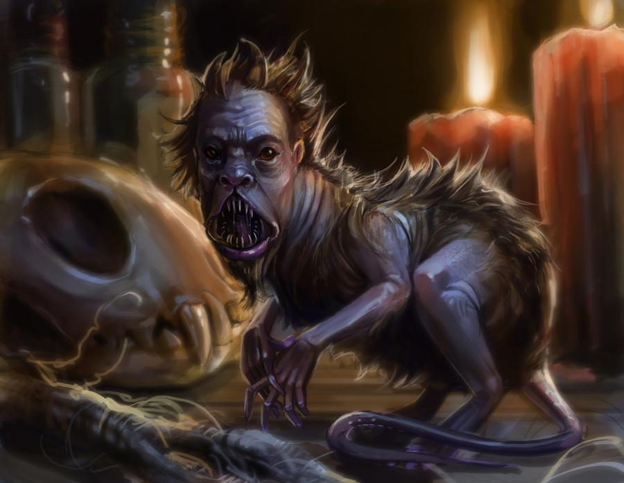 克苏鲁神话生物——人面鼠