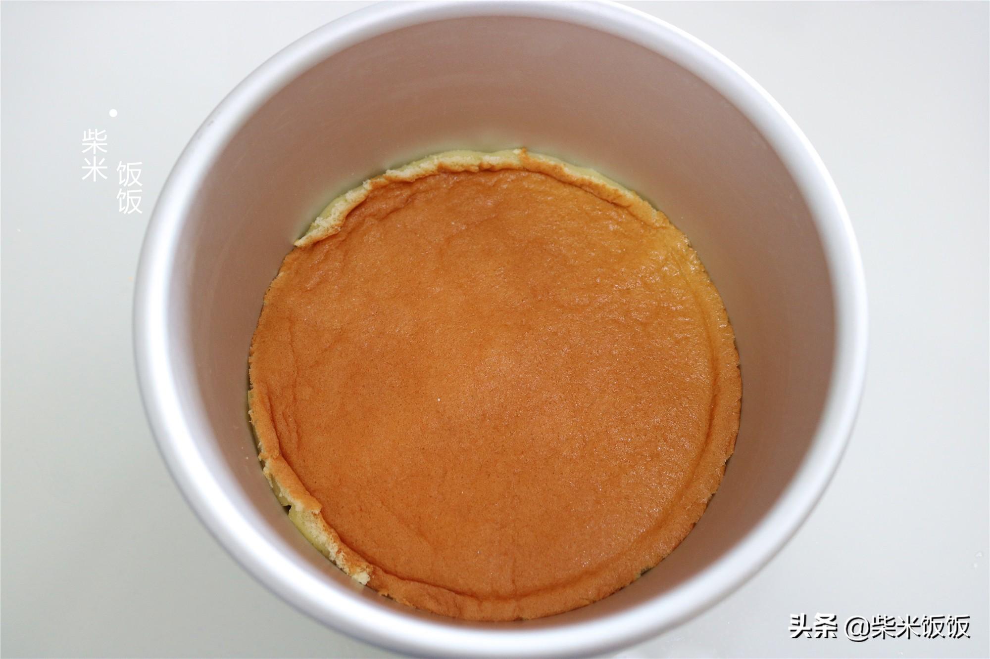 蛋糕这样做,入口即化,清凉解暑,夏天吃它,比吃雪糕还过瘾
