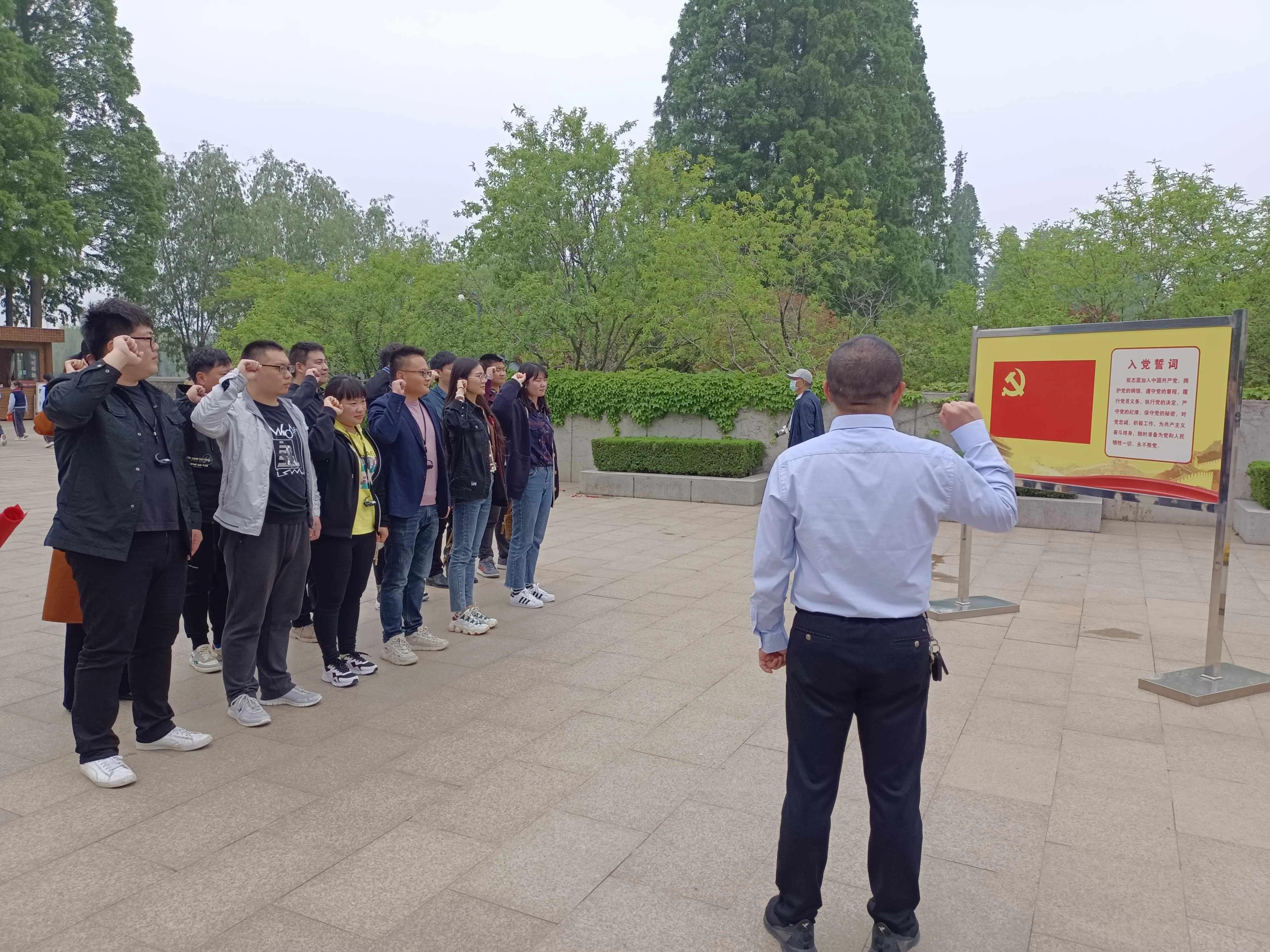 江苏射阳县市场监督管理局青年党员赴周恩来纪念馆参观学习