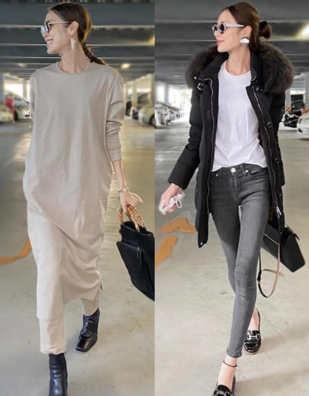 成熟女性穿衣在配不在多,越简约越高级,日本博主私服照搬不出错