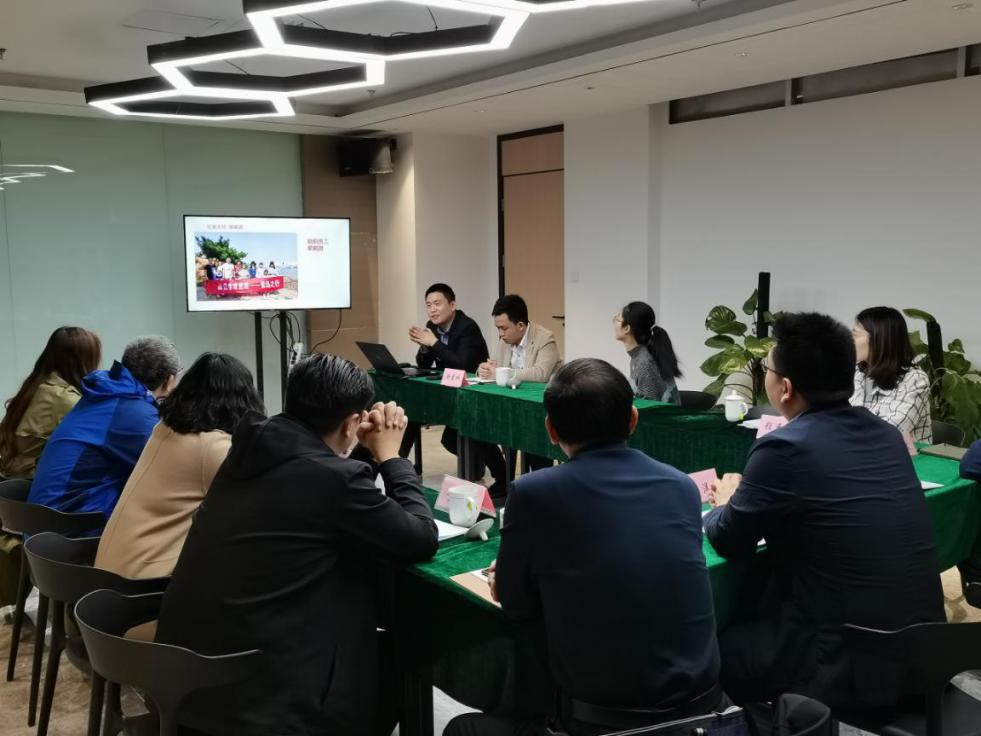 槐荫区委组织部组织科科长杨洋到欧倍尔党支部调研工作