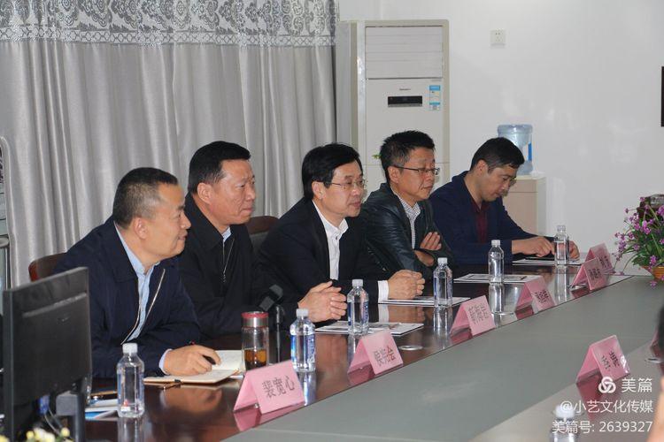 菏泽市委统战部副部长靳海岩到徐州市菏泽商会调研