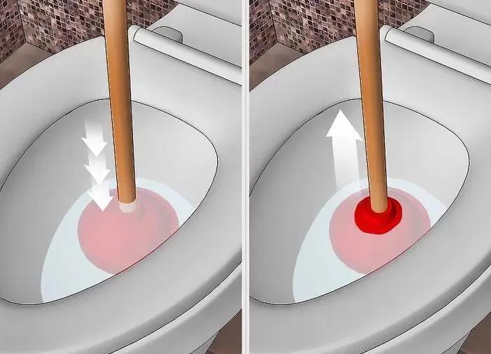 马桶堵了怎么办?8种方法,教你自己在家快速疏通马桶