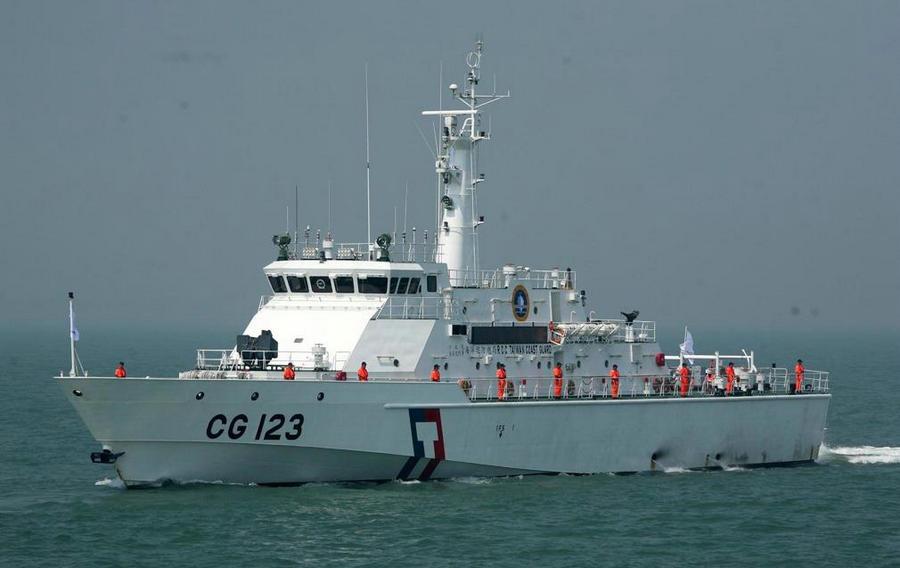 """蔡英文亲自下令,台湾海巡舰涂装搞""""台独""""小动作,当心玩火自焚"""
