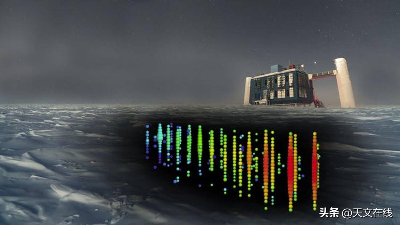 南极洲一次罕见的爆发有朝一日可能揭开幽灵般中微子的神秘面纱