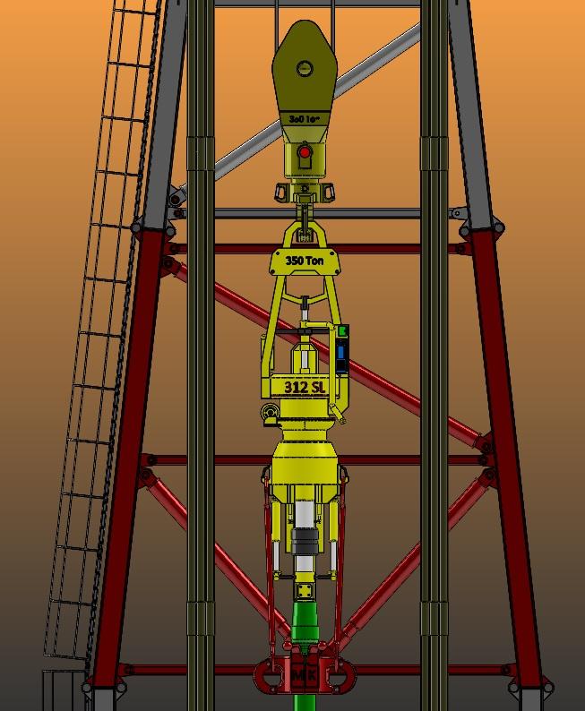 Oil-Derrick石油井架模型3D图纸 Solidworks设计 附x_t