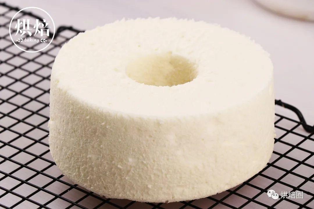 這樣做天使蛋糕從裡到外都白不干不韌比戚風好吃