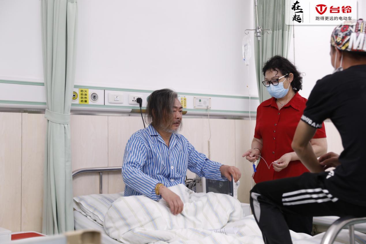 电影《在一起》医院剧照曝光