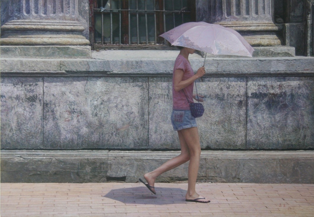 汤岩的城市风景画——带你穿越旧日时光