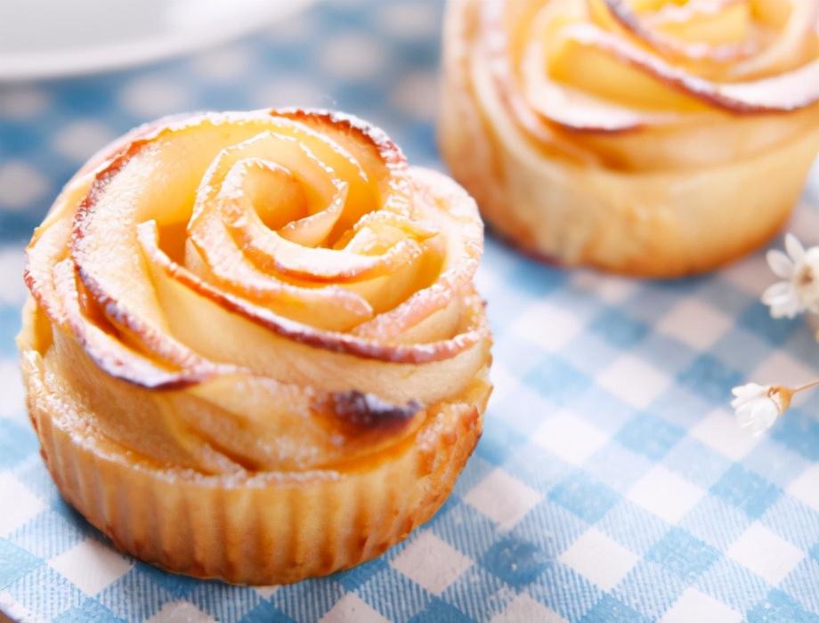 玫瑰花苹果派的做法步骤图 一端上桌被夸好
